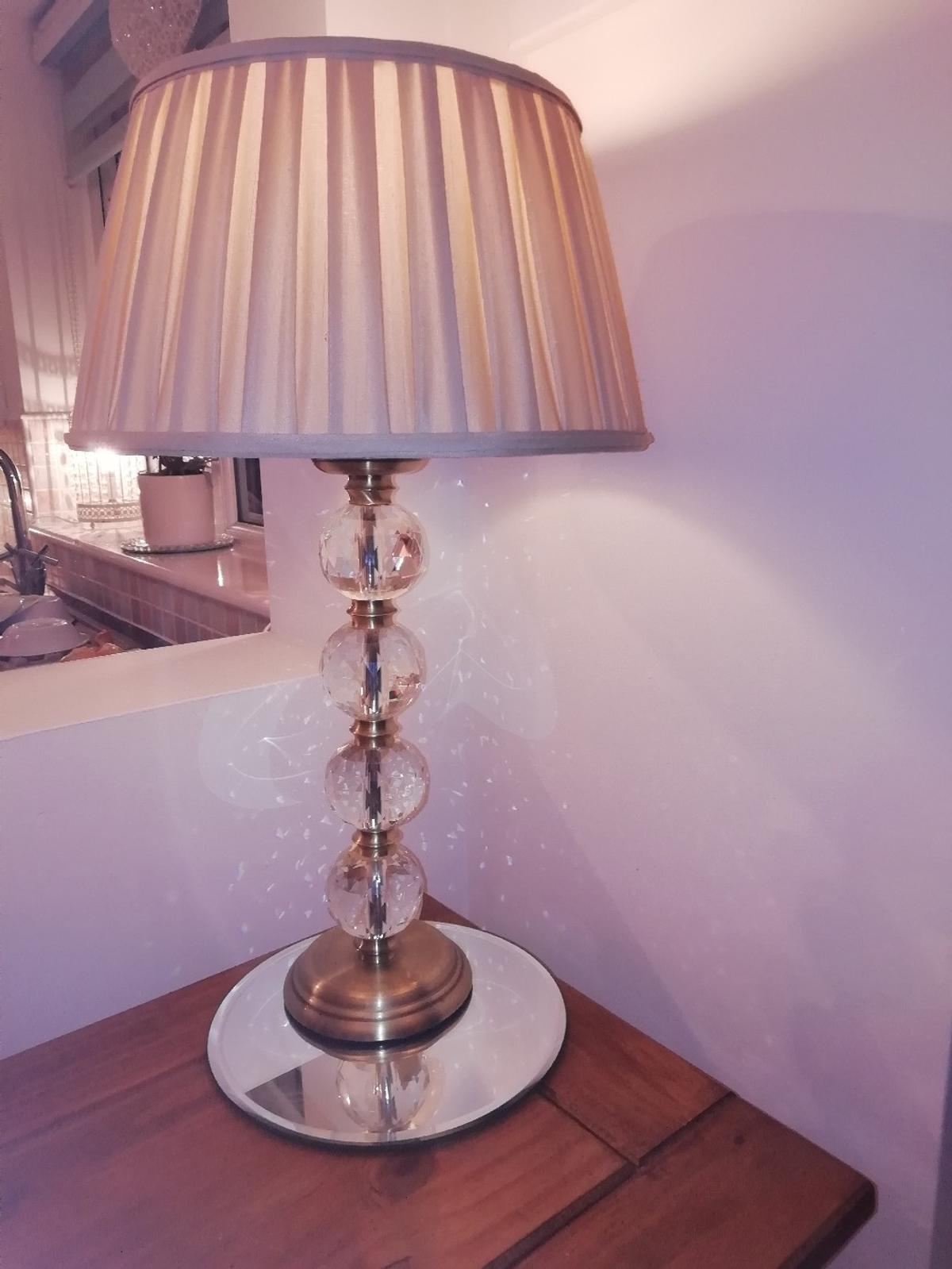 Crystal Table Lamp In Rh10 Crawley For 30 00 For Sale Shpock