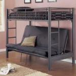 Single Bunk Bed With Double Futon Seat Bed In B74 Walsall For 80 00 For Sale Shpock