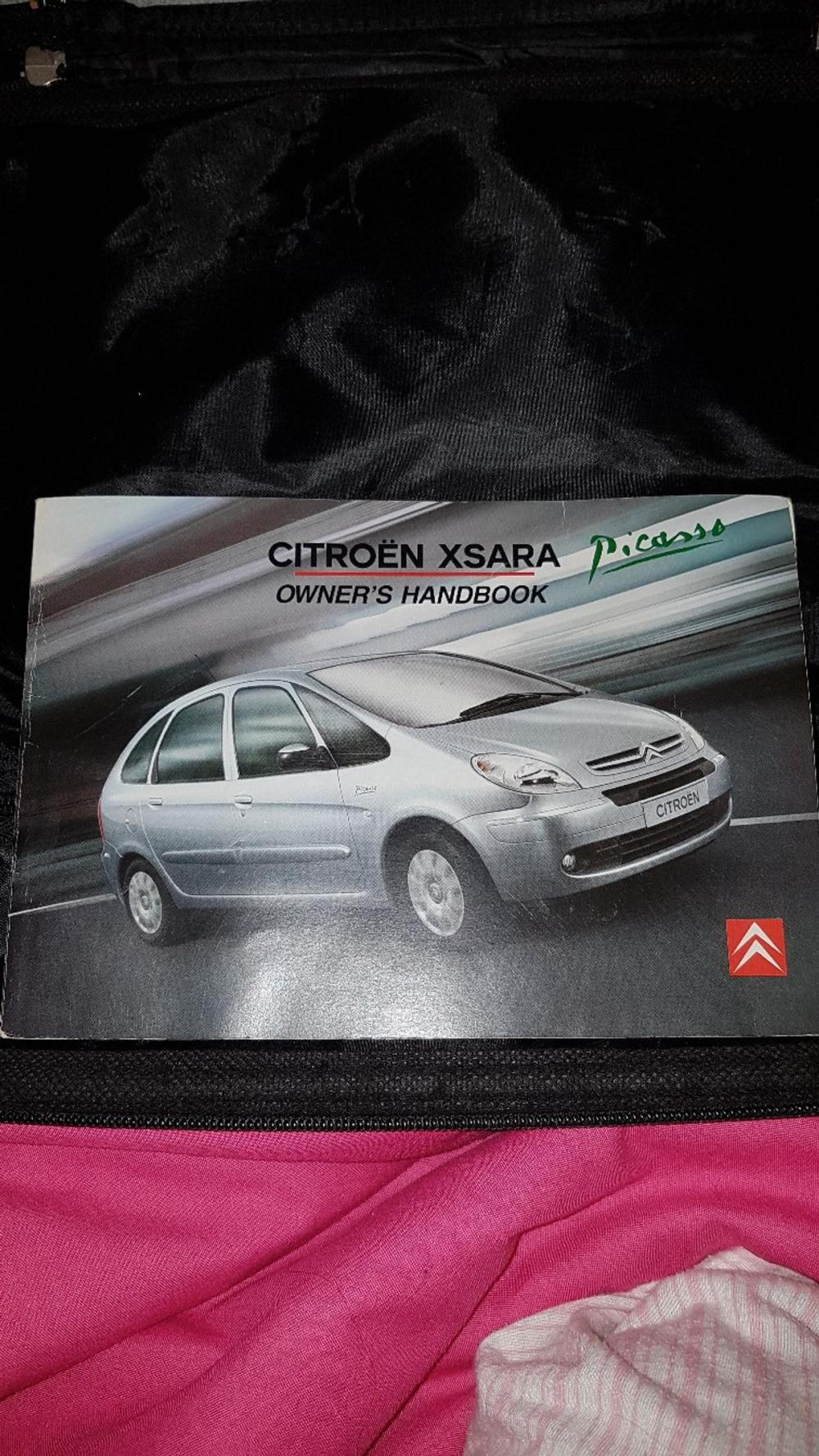 medium resolution of  array citroen picasso xsara owners manual in st4 trent for 4 00 for sale rh