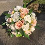 Bouquet White Blush Pink Roses White Roses In So50 Eastleigh For 49 99 For Sale Shpock