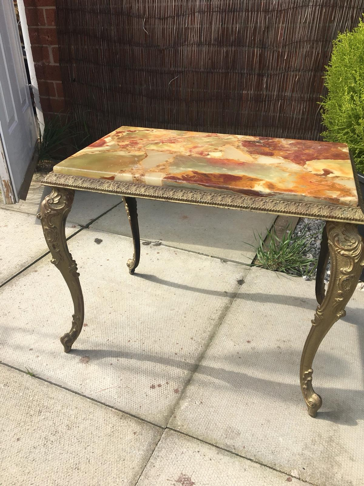marble coffee table sideboard antique