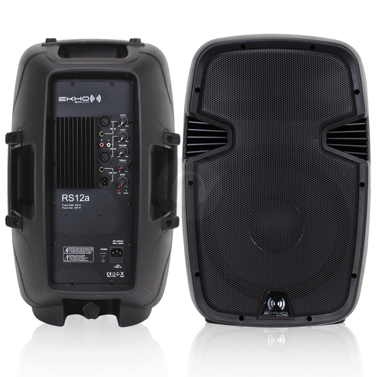 Ekho RS12A PA Speakers in BD9 Bradford for £120.00 for sale | Shpock