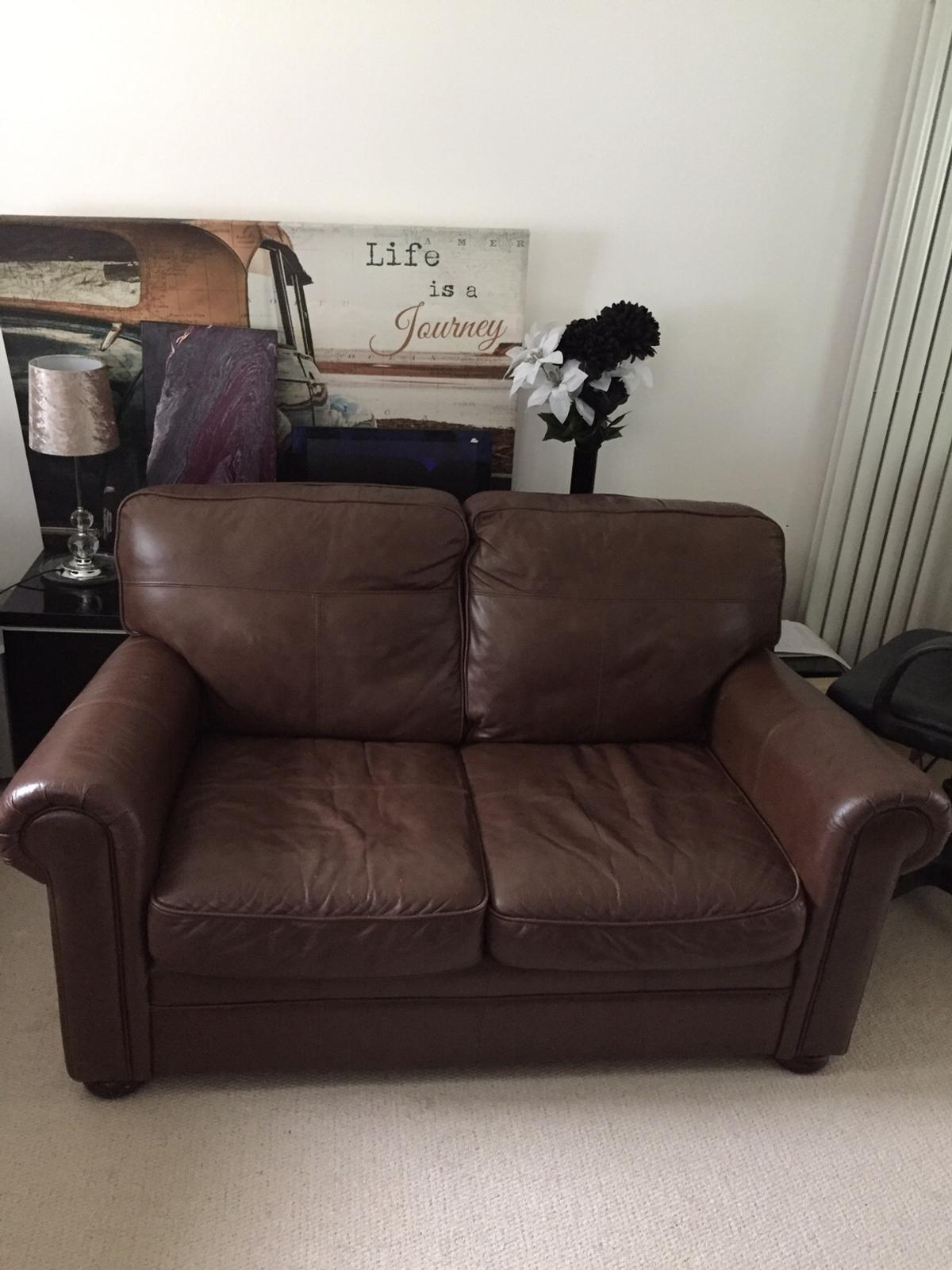 3 Seater Leather Sofa Bed Matching 2 Seater In Rh10 Sussex For 250 00 For Sale Shpock