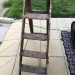 Vintage Old Wooden Step Ladders 20 00 Ono In Wn8 Lancashire For 20 00 For Sale Shpock