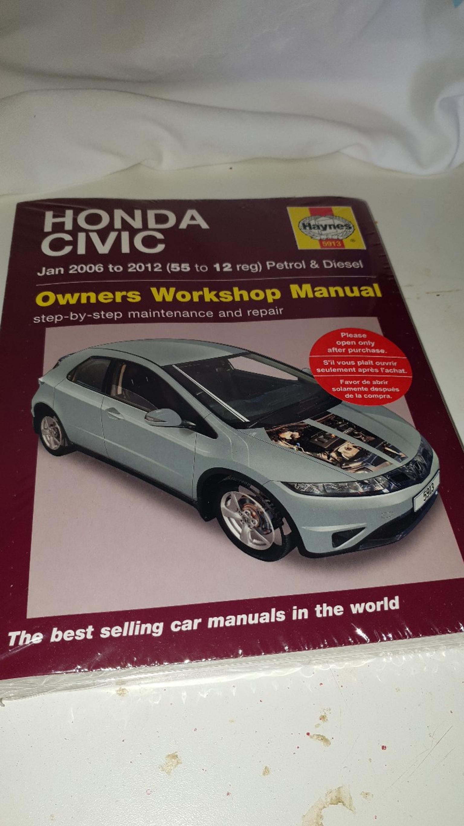 hight resolution of description honda civic owners workshop manual