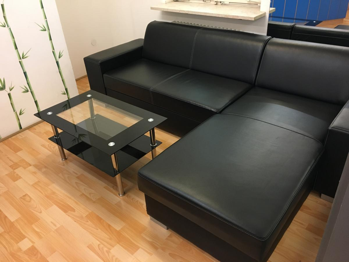 Couch Kunstleder Couch / Sofa L-form In 8200 Gleisdorf For €150.00 For Sale | Shpock