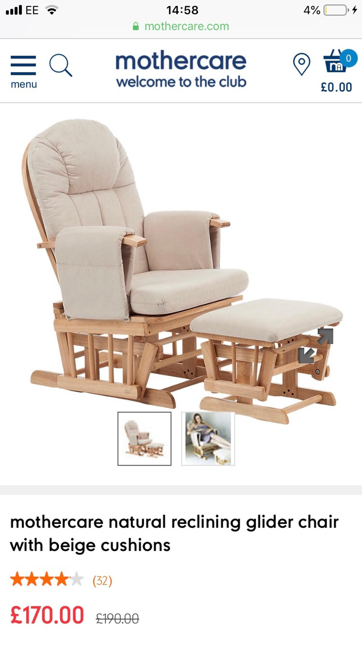 New Nursery Nursing Baby Rocking Glider Chair In Wa10 Helens