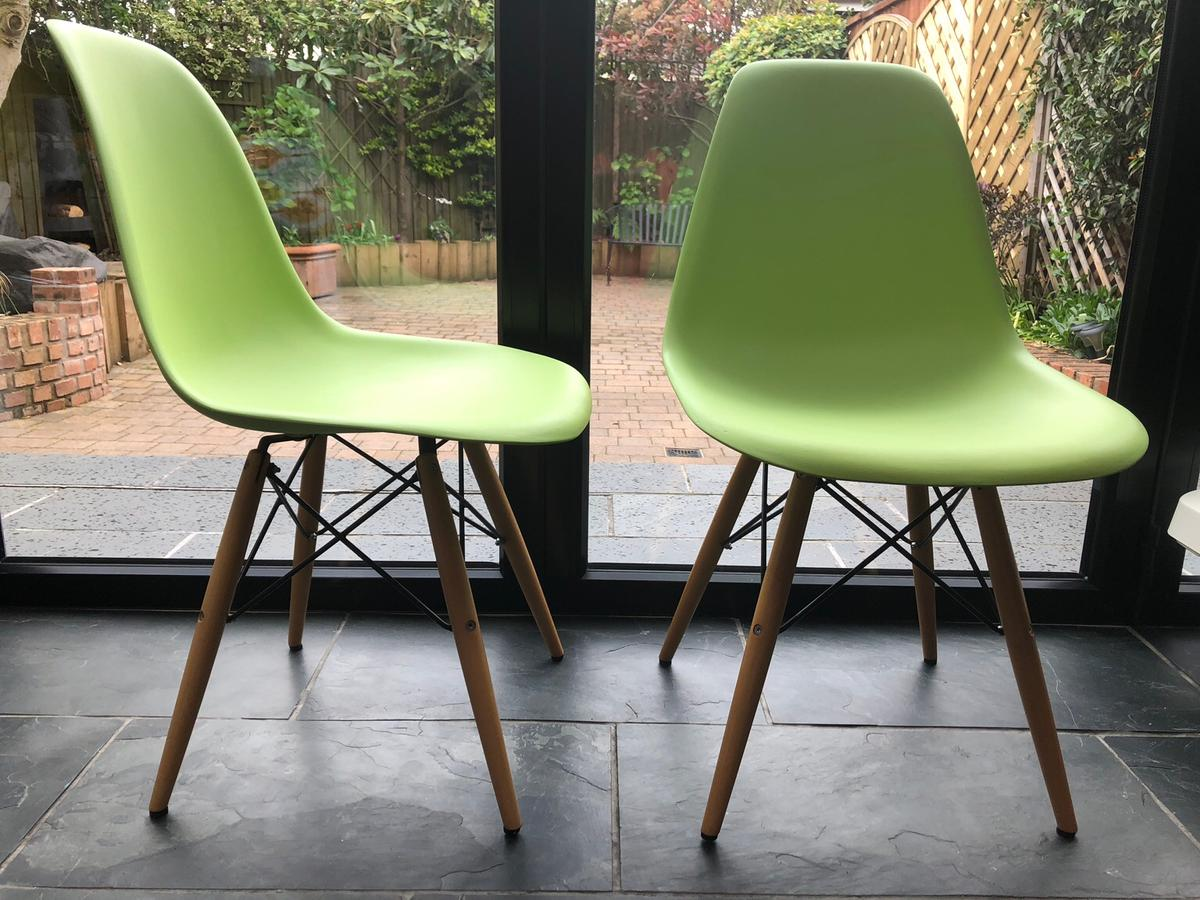 Lime Green Chairs Dining Chairs