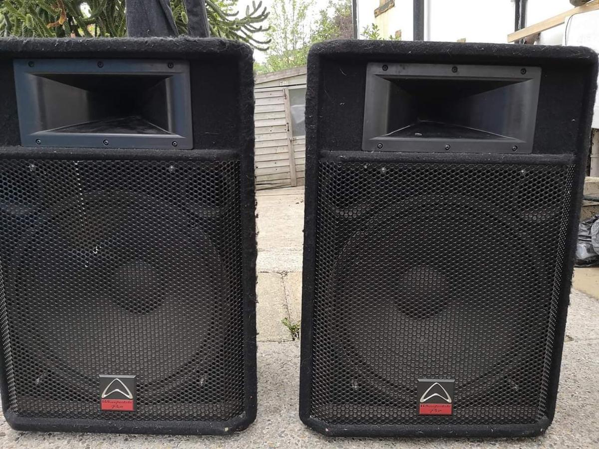 pa system speakers professional
