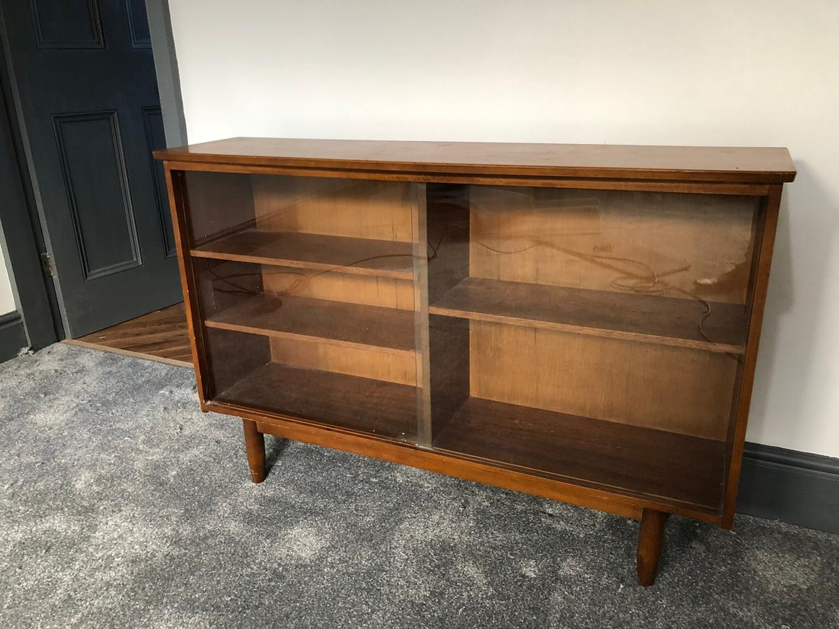 Vintage Bookcase Tv Stand