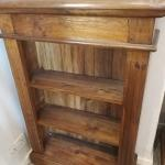 Solid Oak Bookcase Shelving