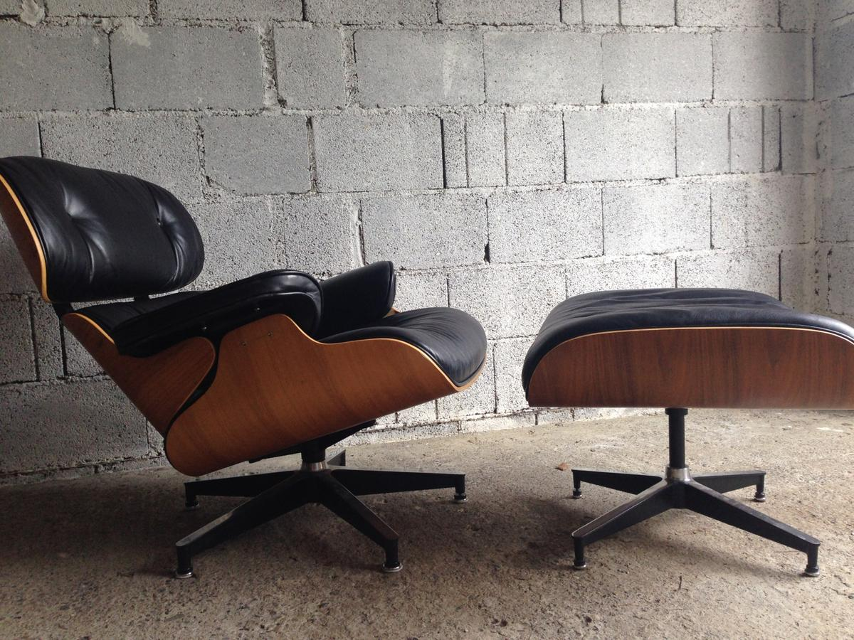 Replica Möbel Legal Eames Lounge Chair + Ottoman Schwarz, Replica In 6850 Dornbirn For €300.00 For Sale | Shpock