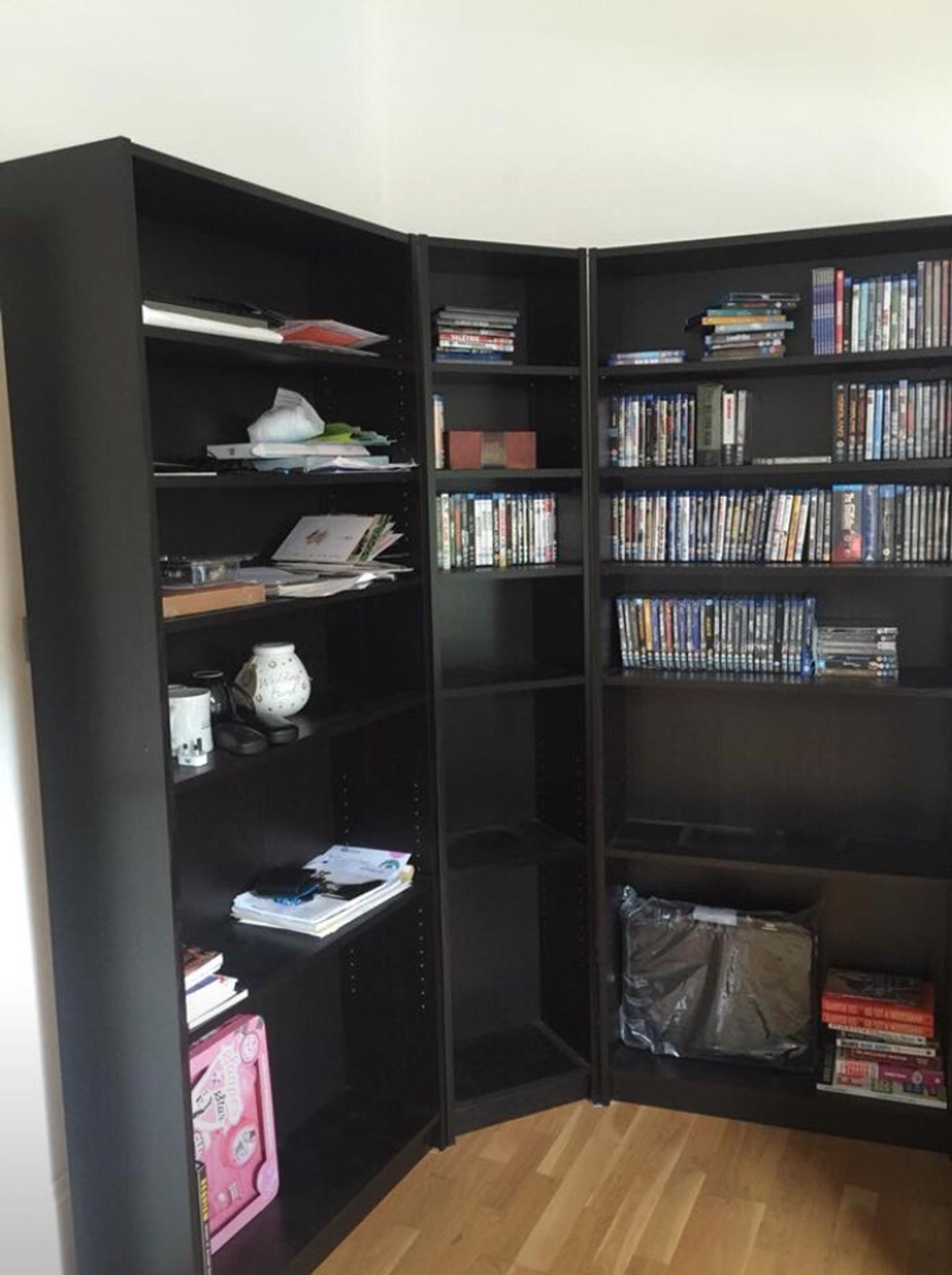 Ikea Billy Corner Bookcases
