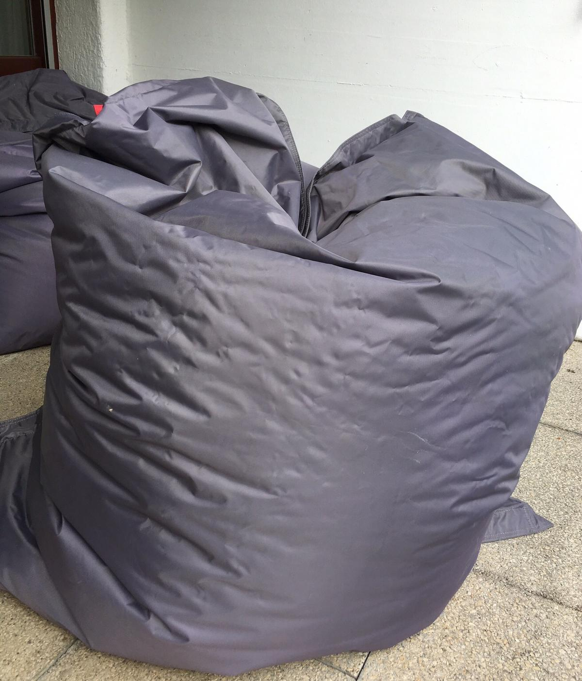 Outdoor Sitzsack Xxl Qsack Outdoor Sitzsack Xxl, Dunkelgrau In 6850 Dornbirn For €60.00 For Sale | Shpock