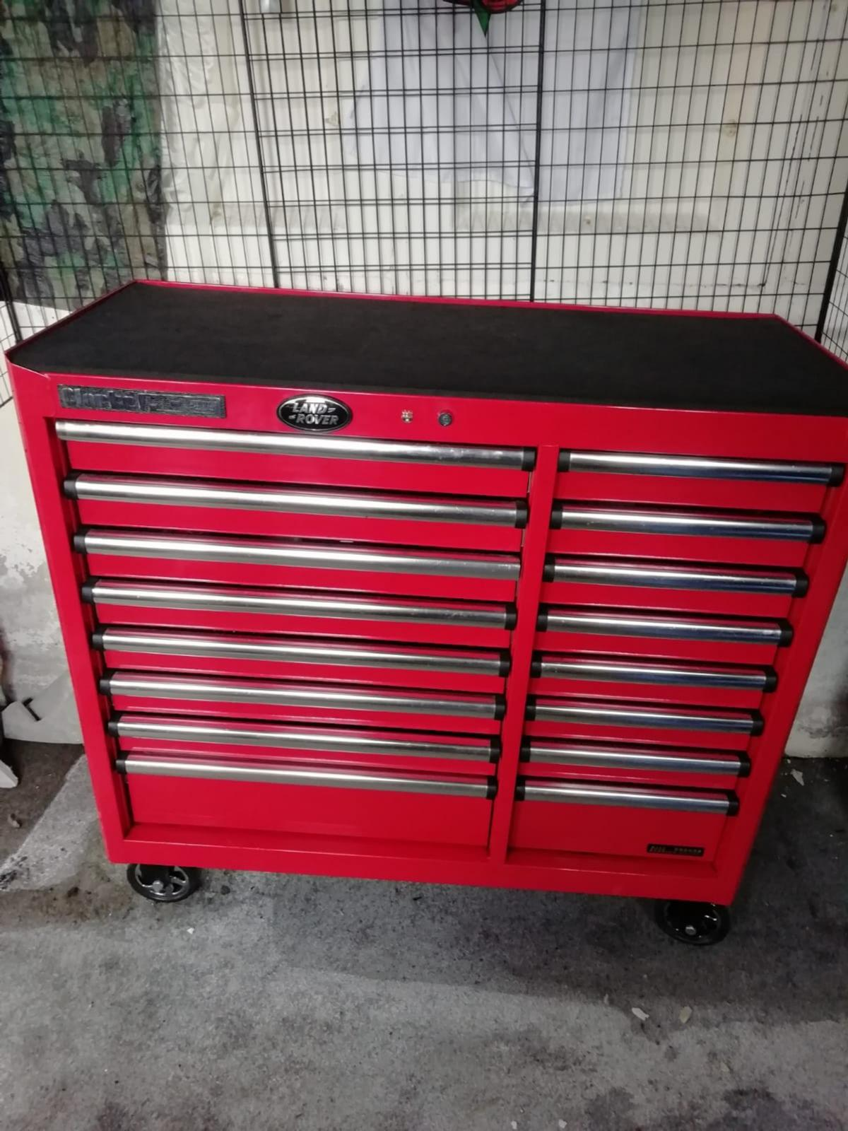 clarke hd plus 16 drawer tool cabinet