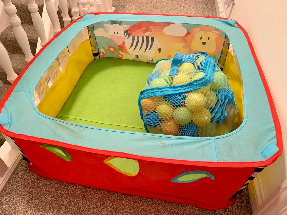 BABY / TODDLER SENSORY POP-UP BALL PIT in Priorslee ...