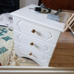 White Bedside Table 3 Drawers In B73 Birmingham For 15 00 For Sale Shpock