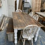 Rustic Farmhouse Dining Table In Tn12 Wells For 250 00 For Sale Shpock
