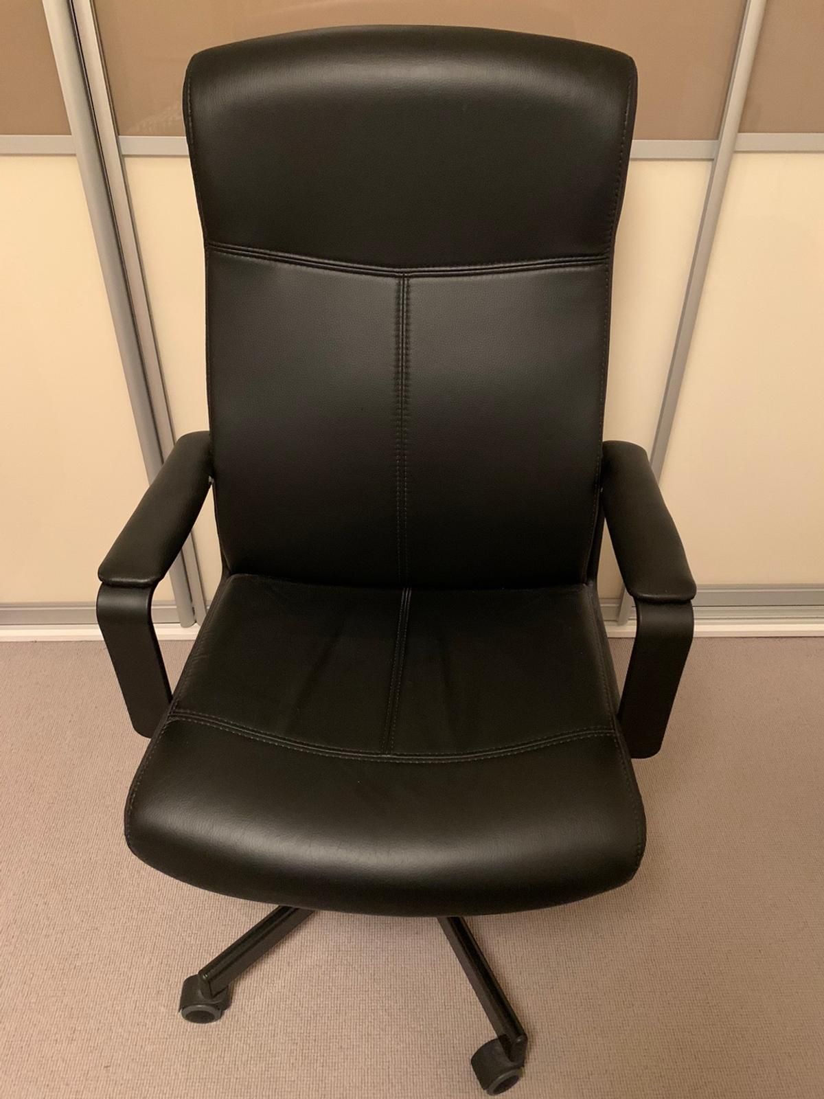 Ikea Black Millberget Desk Chair In W6 Fulham For 22 00 For Sale Shpock