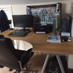 Ikea Galant Corner Desk In Wn2 Wigan For 40 00 For Sale Shpock
