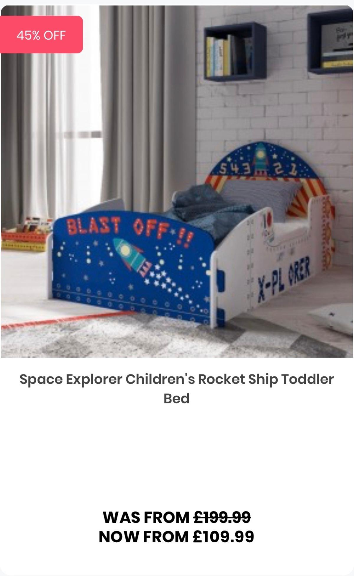 Space Explorer Toddler Bed Matchin Bookcase In Dy11 Wyre Forest For 25 00 For Sale Shpock
