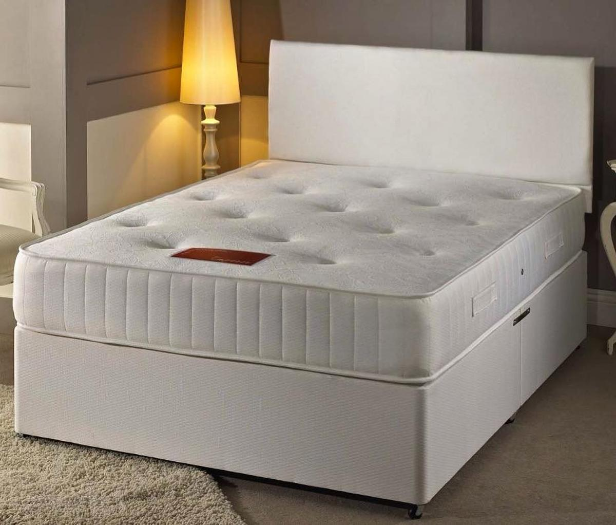 Brand New White Leather Divan Beds On Sale In B1 Birmingham For 100 00 For Sale Shpock