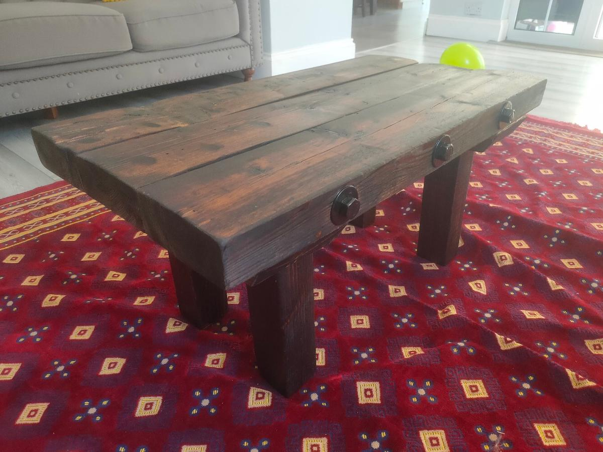 Rustic Reclaimed Wood Coffee Tea Table In London For 150 00 For Sale Shpock