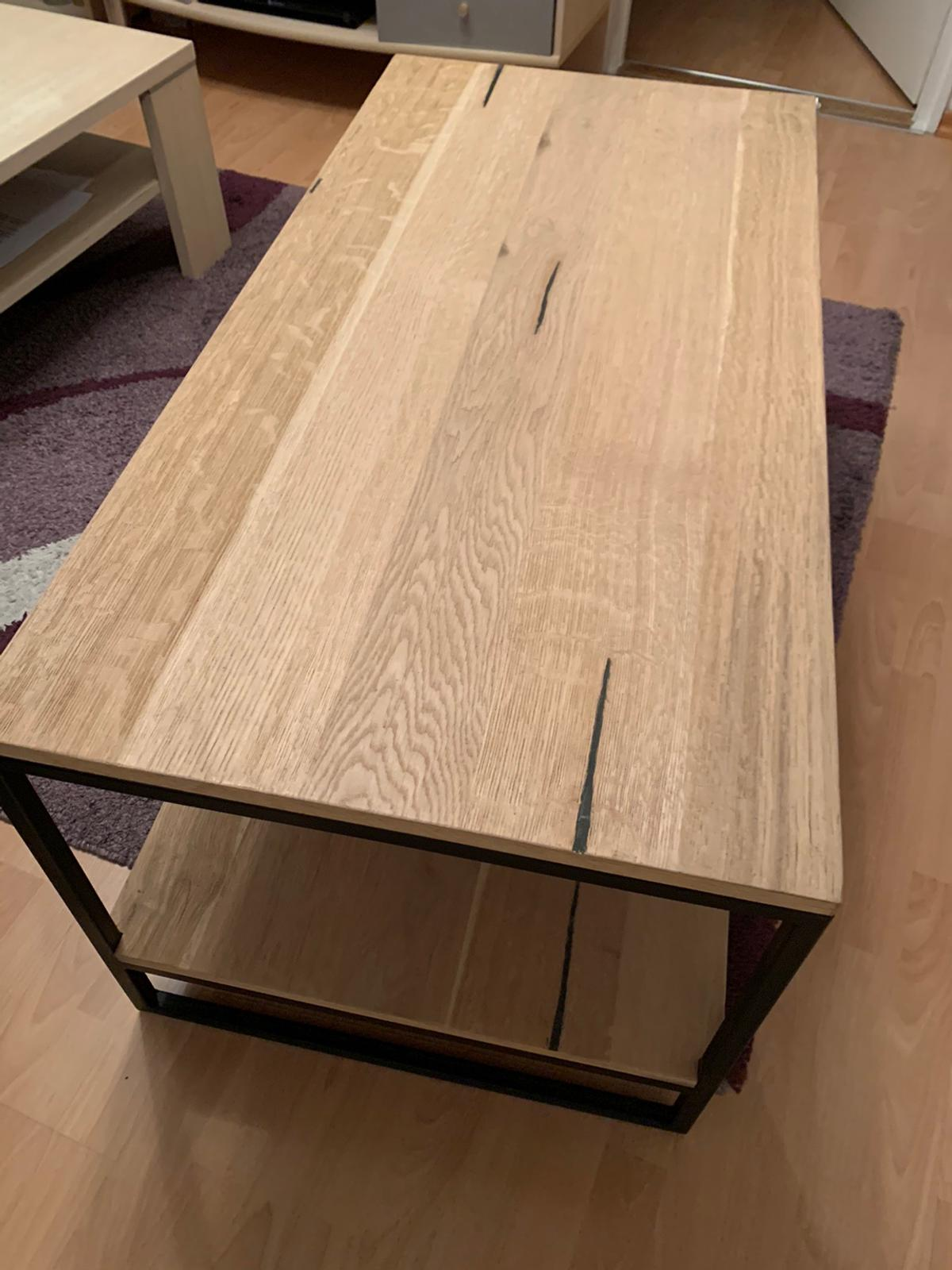 Bauholz Couchtisch Couchtisch - Holz/stahl In 80339 München For €230.00 For Sale | Shpock