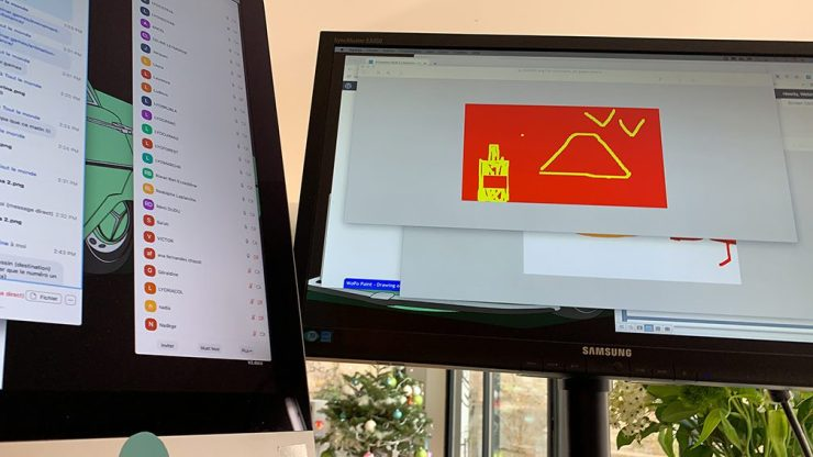Activité Visioconférence à Distance Activité artistique et créative Visio conférence en télétravail aNa artiste webinaire games