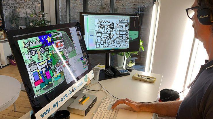 Idée Animation VisioConférence à Distance webinaire.games outil de leadership à distance