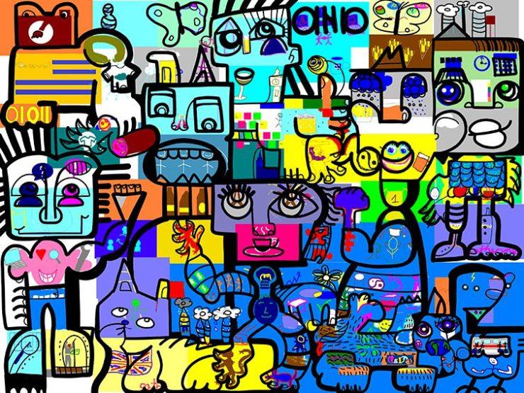 Fresque Digitale à Distance Télétravail Outil de Management Collaboratif