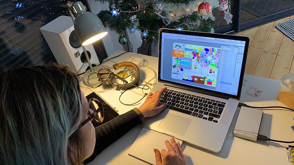 Création d'une Œuvre d'Art en Télétravail comme exercice de cohésion et de management télétravail