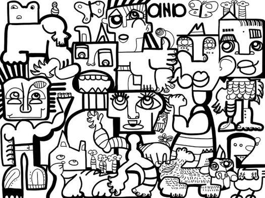Œuvre Collective à Distance aNa artiste webinaire.games
