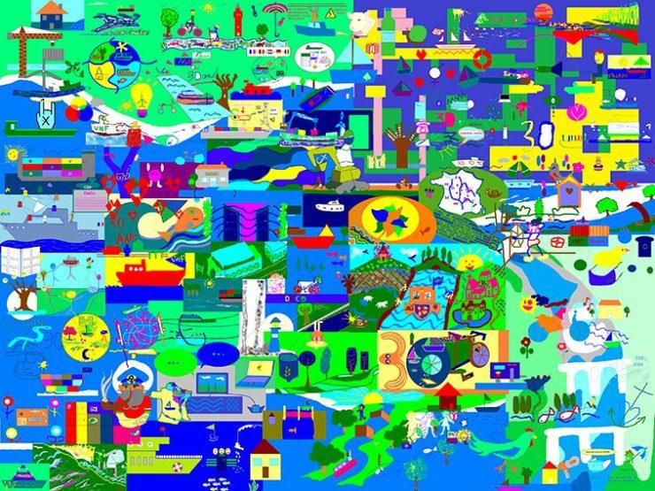 Animation design thinking à distance mur d'idées