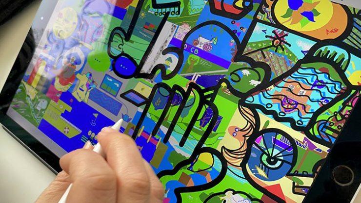 Artiste design thinking Digital