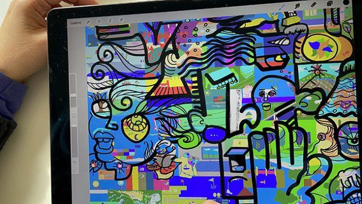 Fresque Digitale Design thinking ana artiste