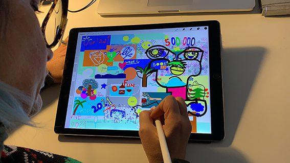 Team Building à Distance œuvre commune fresque digitale en distanciel
