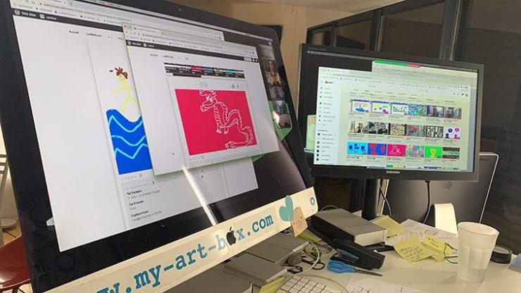 Idée Animation Digitale Design Thinking en Télétravail outil de leadership à distance