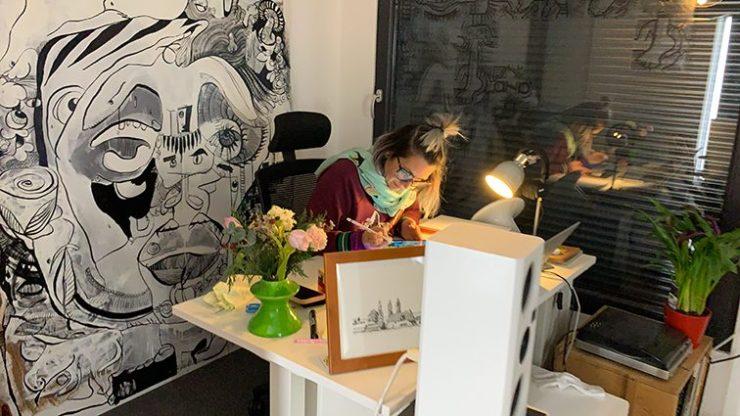 Idée Animation Digitale Design Thinking par aNa artiste sur webinaire.games