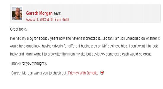 entrepreneur quote in comments