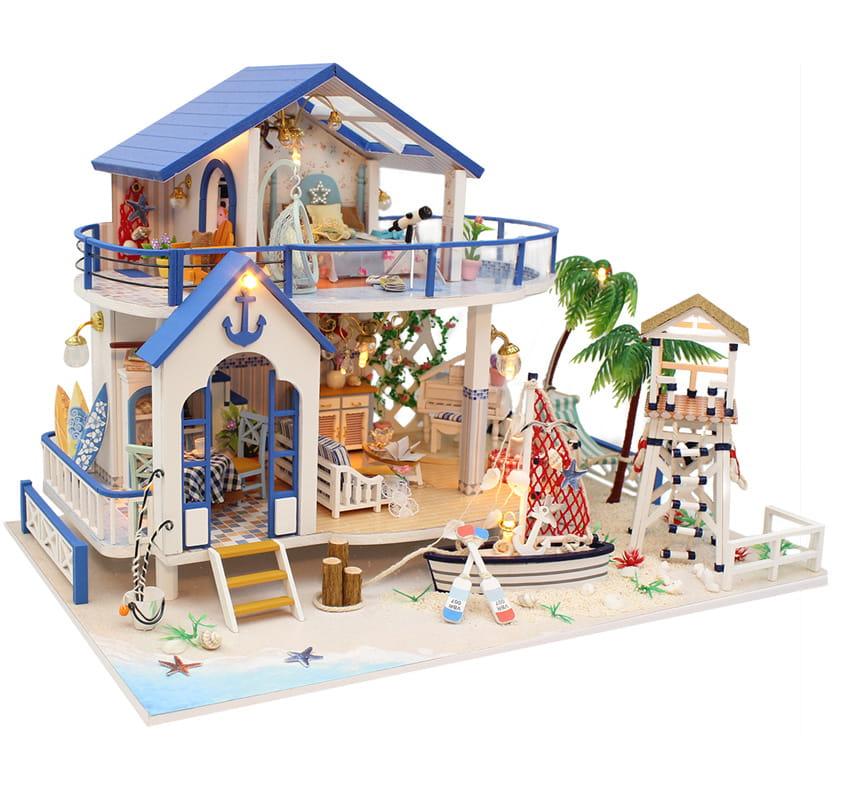 Miniaturowy domek Błękitna laguna
