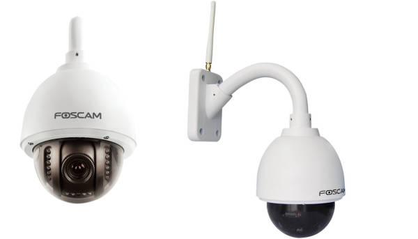 Telecamera IP WiFi motorizzata HD da esterno con infrarossi