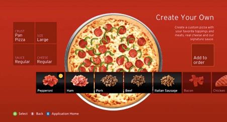 O efeito das interfaces de toque na escolha dos alimentos