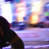 Weedja, durante apresentação no festival Sonoridades no Fábrica, em novembro
