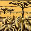 goudmol-savanne-woongebied
