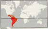 almiqui continent Centraal en Zuid-Amerika