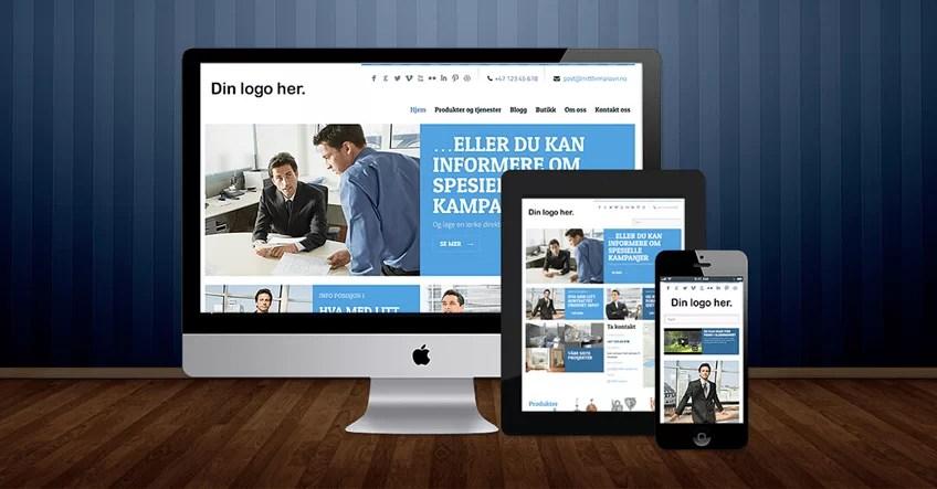 Hvordan lage hjemmeside raskt, enkelt og rimelig.