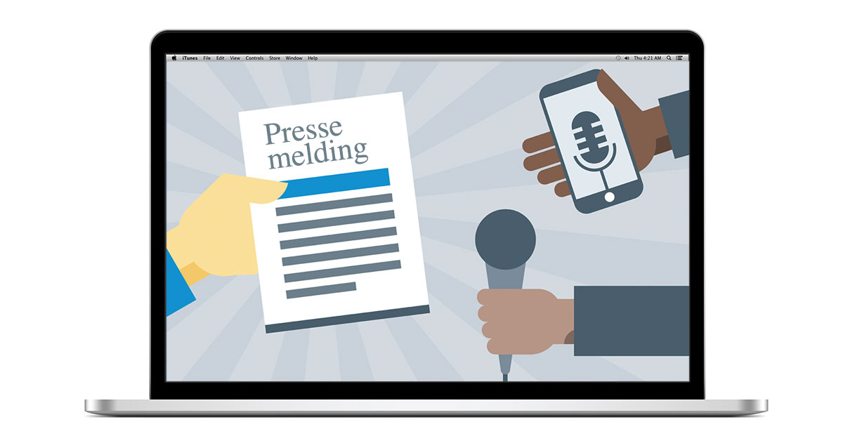 Skriv pressemelding - nå ut til tusenvis av mennesker, helt gratis!
