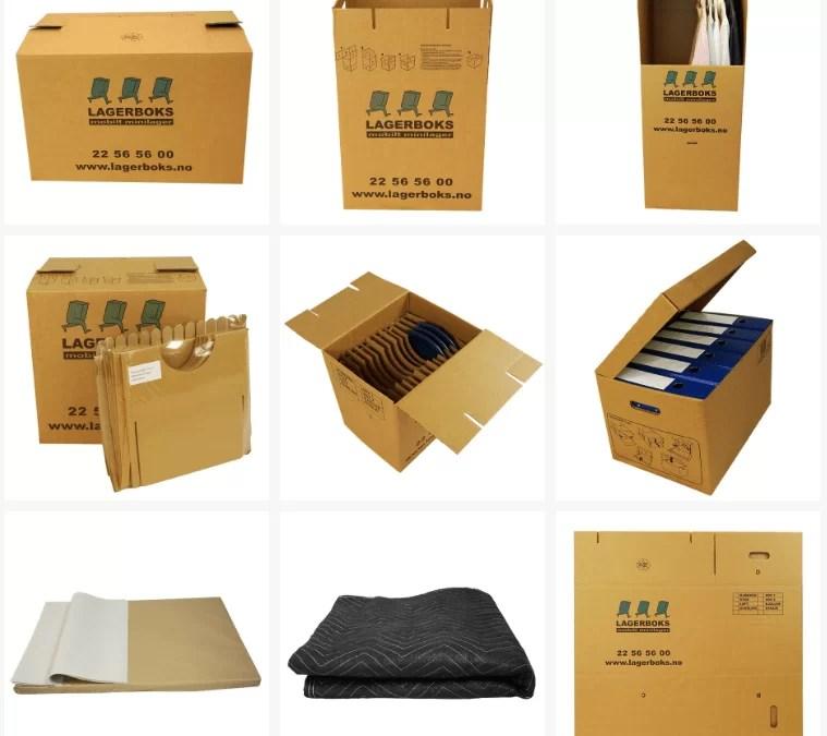Produkt fotografering av Lagerboks flytteprodukter