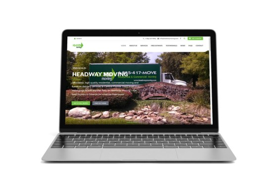 Headway Moving – web design